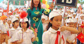 Thủ tục để trẻ vào lớp 1 năm học 2017 – 2018 ở Hà Nội