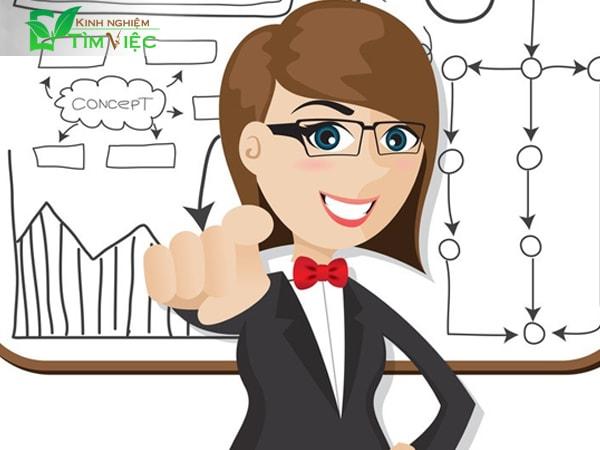 Cho nhà tuyển dụng thấy điểm mạnh của bạn bằng cách lập chiến lược kinh doanh