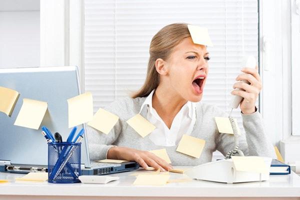 Lúc nào bạn cũng bị căng thẳng vì công việc