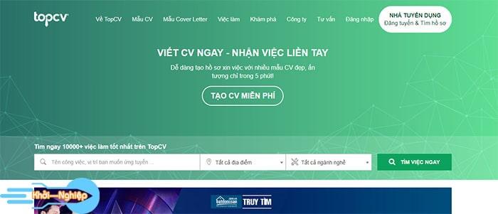 Top 5 website tìm việc làm uy tín nhất tại Việt Nam