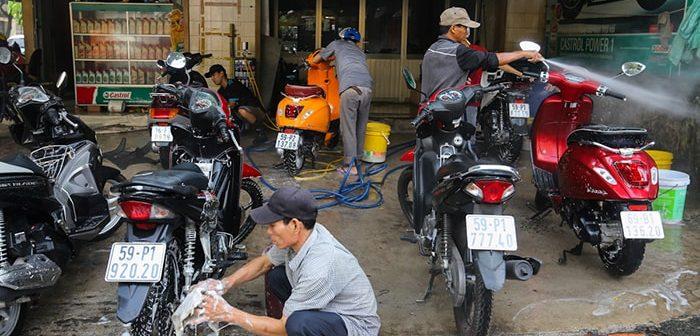 Có nên kinh doanh rửa xe máy hiện nay hay không?