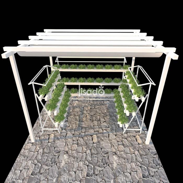 Các dụng cụ để trồng rau thủy canh