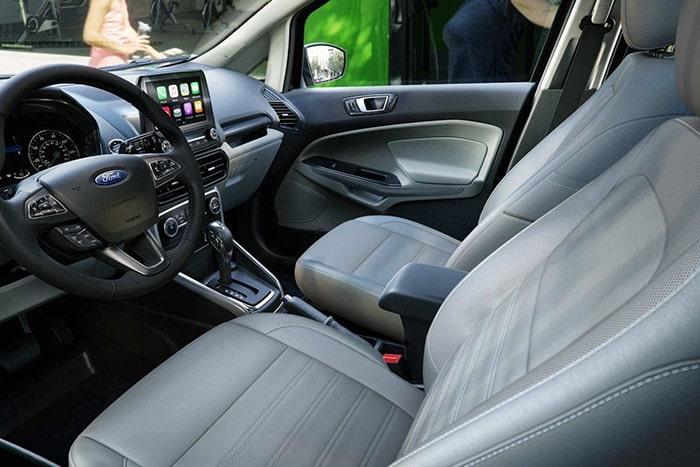 Nội thất tiện nghi, sang trọng của Ford Ecosport Titanium