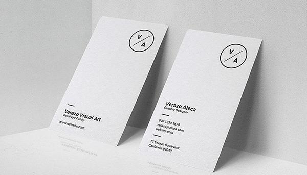 Xu hướng in name card tối giản - Minimalism