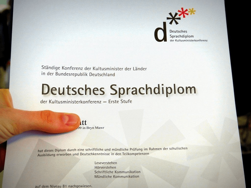 Chứng chỉ tiếng Đức là yêu cầu vô cùng quan trọng khi muốn du học tại đây