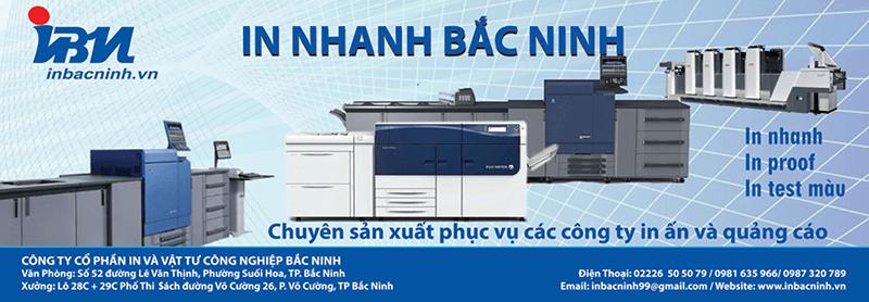 Công ty Cổ phần In và Vật tư Công nghiệp Bắc Ninh