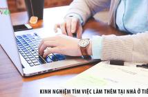 Chia sẻ kinh nghiệm tìm việc làm thêm tại nhà ở Tiền Giang