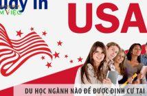 Du học ngành nào để được định cư tại Mỹ?